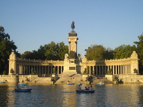 Statue of Alfonso XII in the Retiro