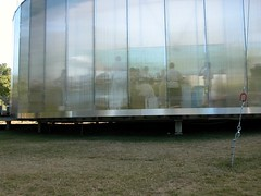 Serpentine pavilion 2006 - ghostly figures within