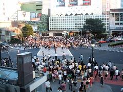 Shinjuku's Famous Crossing
