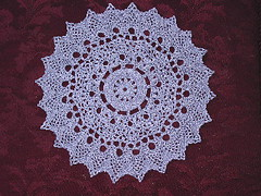 French Vanilla Doily