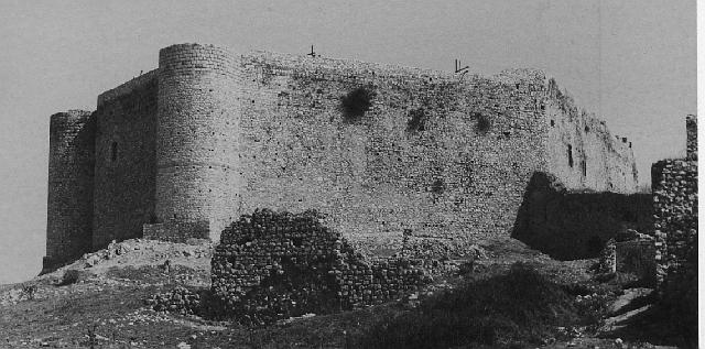 Castle of Khlemoutsi, Greece: the keep