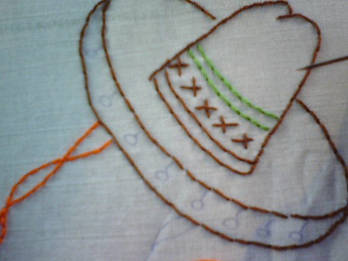 WIP - Mexican Embroidery