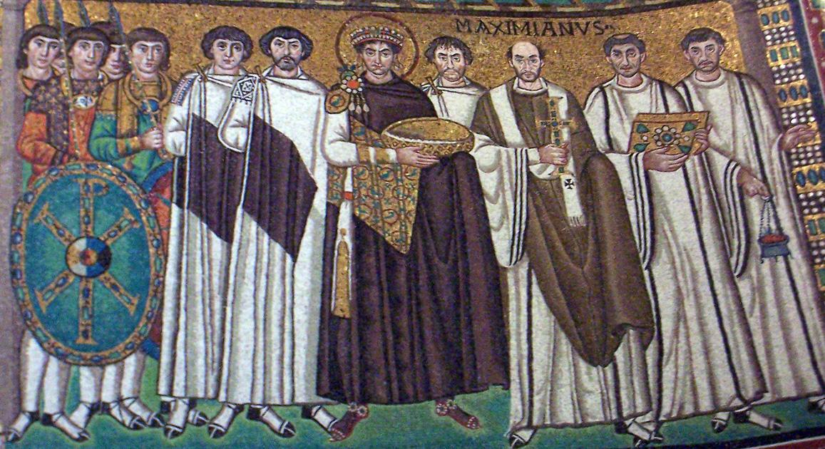 L'emperador Justinià, San Vitale, Ravenna