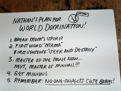 Nathan's plan for world domination