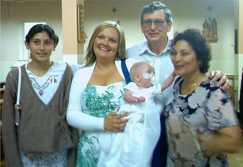 Lauren's Christenig (06/08/06)