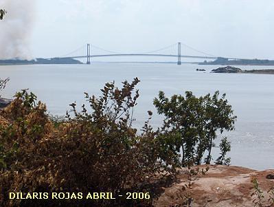 PUENTE ANGOSTURA - EN EL RIO ORINOCO