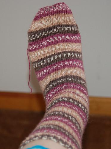 Sock second attempt