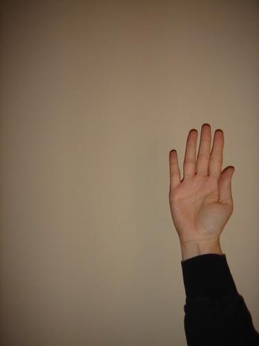 Hand Raised