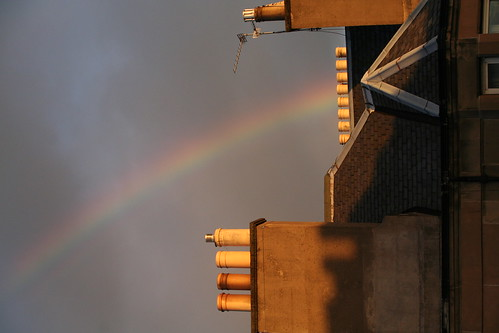 A Rainbow from the flat.