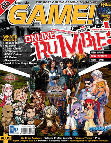 Game! Magazine Issue 5: Online Rumble
