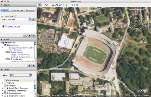 Much improved Google Earth imagery