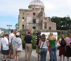 1002 Students at A Bomb Dome