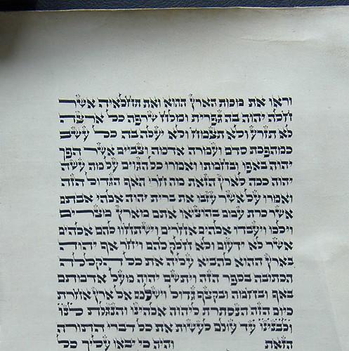 Soferet's Large Letter Lamed