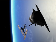 STS-115 ISS Fly Around