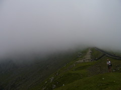 The top of Snowdon