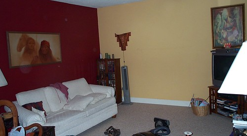 Living Room is Naked 091706