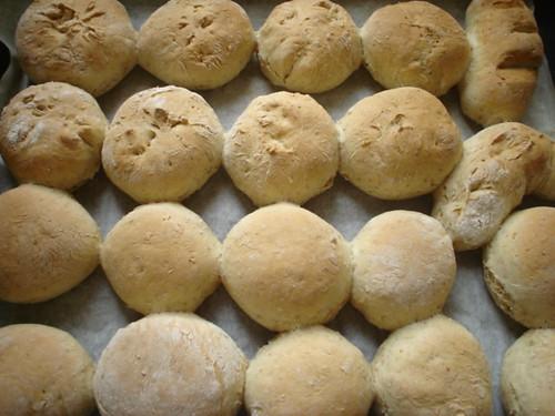 Pan: recién salido del horno