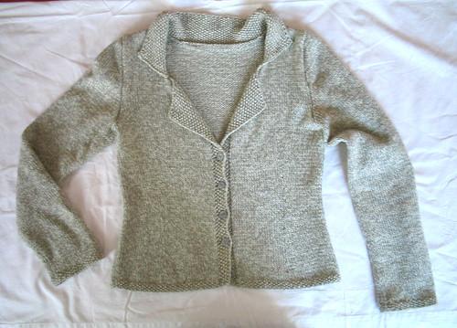 Grey Cardi