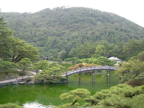 Ritsurin Koen à Takamatsu