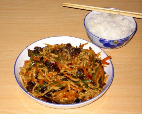 陶大厨的鱼香肉丝