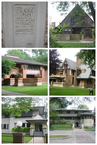 Frank Lloyd Wright Mosaic