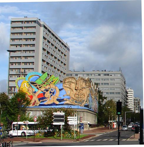 Centre ville-1 ivre