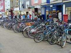 Parking à vélo à Oxford