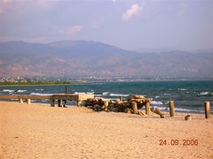 View of Bujumbura and Lake Tanganyika