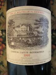 Lafite Label 1999