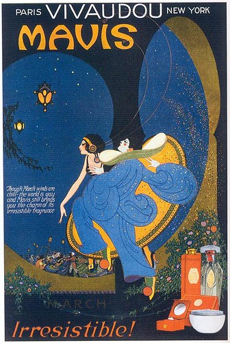 Fred L. Packer, Mavis Perfume, March 1920