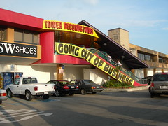Tower Records - Going out of business