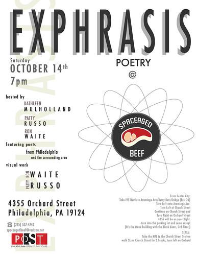 Exphrasis Poster