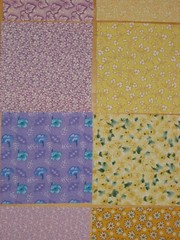 Fabric squares (4)