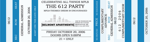 612 Party Invitation
