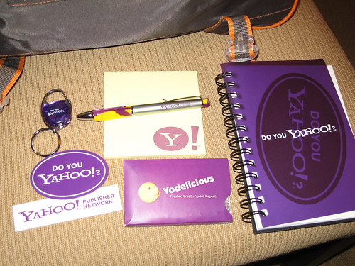 Yahoo! Search Marketing Shwag
