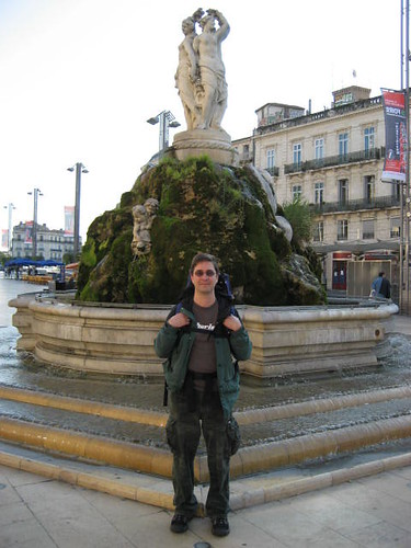 William at Place de la Comédie