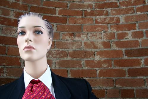 Red Tie Mannequin