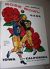 1959 Rose Bowl Program