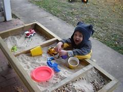 a new sandbox