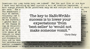 Q-The key to NaNoWriMo.jpg