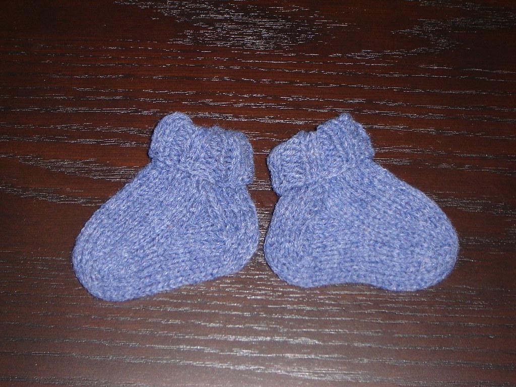 Blue Baby socks