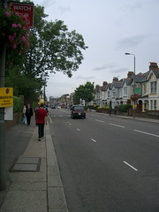 Road from Wimbledon