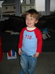 Sebastien: Happy Third Birthday