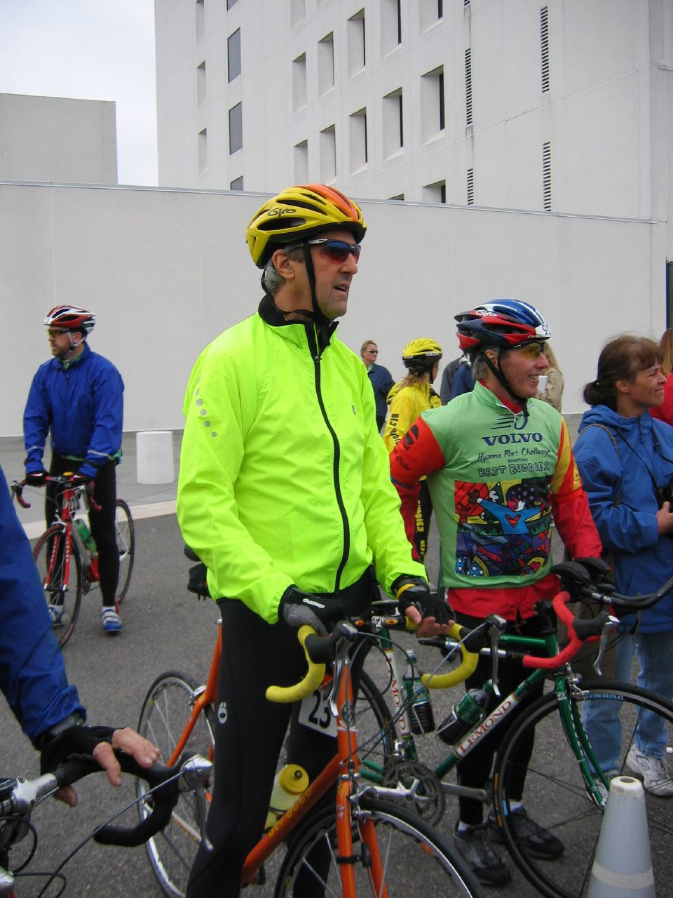 John Kerry, Preparing to Ride 90 Miles