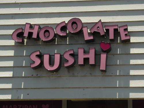 Chocolate Sushi!