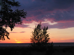 Sunsets From Lake Erie Set