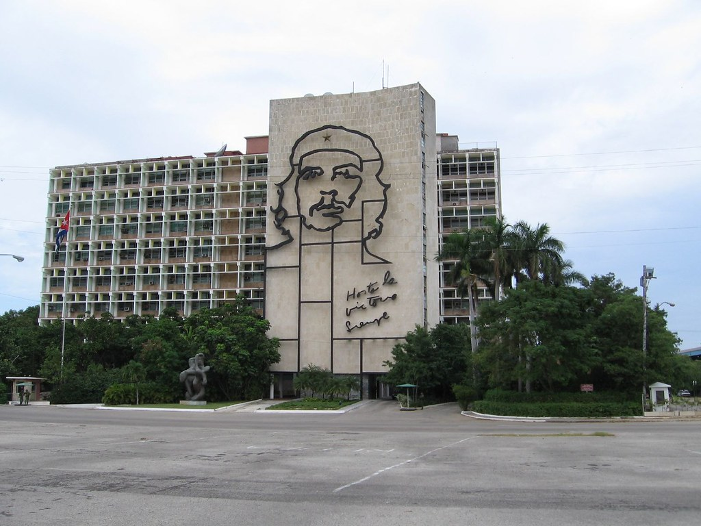 Plaza De La Revolucion - Che Guevara Mural