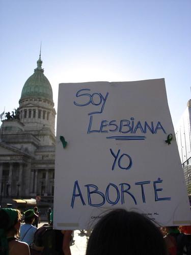 Manifestación pro-Aborto en Buenos Aires el pasado mes de septiembre, 2008.