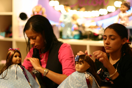 American Girl - Doll Salon!