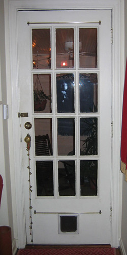 Cincinnati cape cod wanted multi lite exterior door for Exterior door with built in pet door